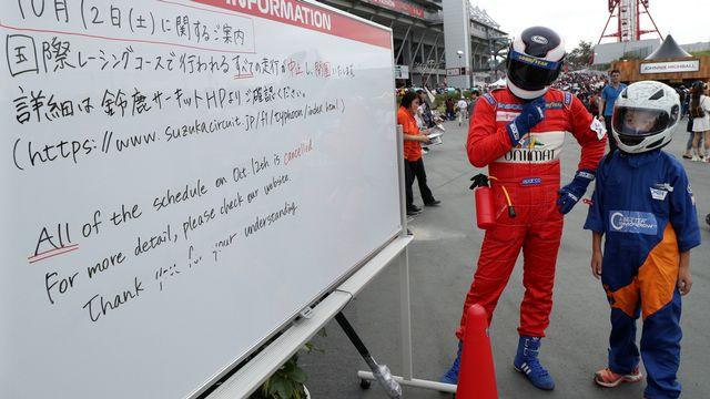 Les pilotes espèrent que le GP du Japon aura bel et bien lieu. [Keystone]
