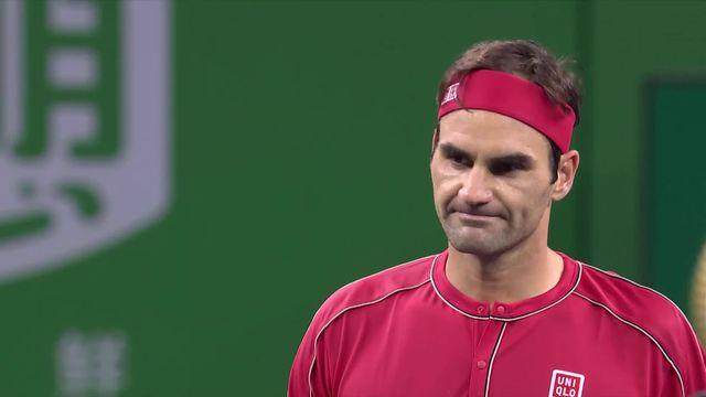 1-4, A.Zverev (GER) – R.Federer (SUI) (6-3, 6-7, 6-3): Federer sauve 5 balles de match, mais s'incline en trois sets [RTS]