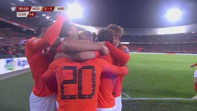 Gr.C, Pays-Bas – Irlande du Nord (3-1): les Hollandais s'imposent dans les arrêts de jeu [RTS]