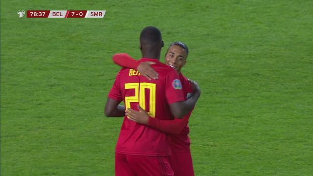 Gr.I, Belgique – Saint-Marin (9-0): la Belgique première qualifiée après son carton face à Saint-Marin [RTS]