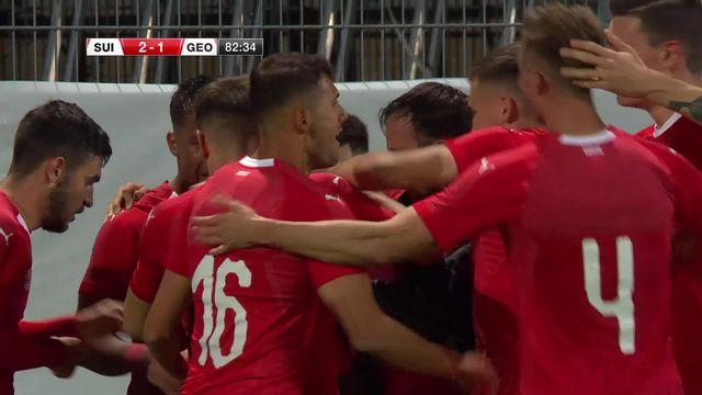 U21, Suisse – Géorgie (2-1): la Suisse s'en sort grâce à un but de Lotomba en fin de match [RTS]