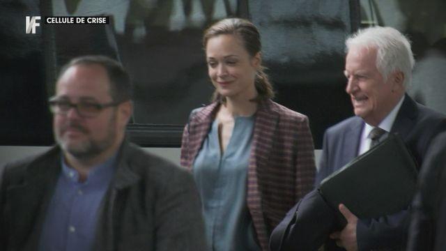 Repérage - sur le plateau du tournage de Cellule de crise, nouvelle série de fiction avec Isabelle Caillat et André Dussolier [RTS]