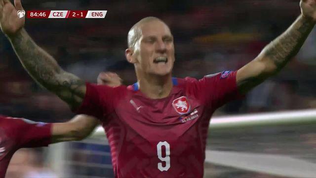 Groupe A, Rep. Tchèque - Angleterre (2-1): victoire surprise des Tchèques face aux Anglais [RTS]