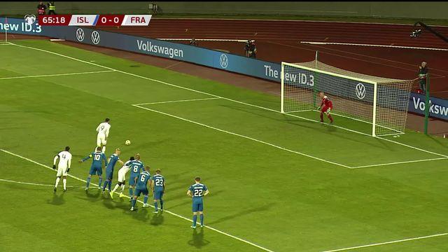 Groupe H, Islande - France (0-1): Olivier Giroud délivre la France sur penalty [RTS]