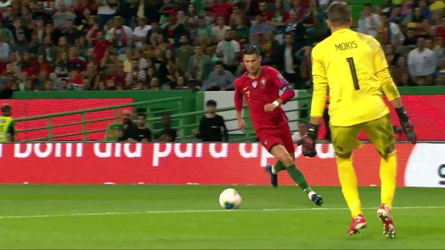 Groupe B, Portugal - Luxembourg (3-0): les Portugais s'imposent facilement à domicile [RTS]