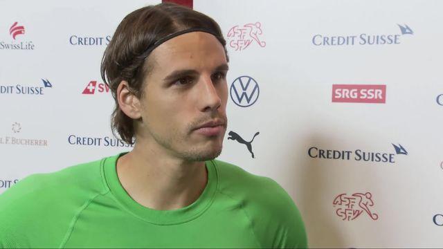Groupe D, Danemark - Suisse (1-0): Yann Sommer à l'interview après la rencontre [RTS]