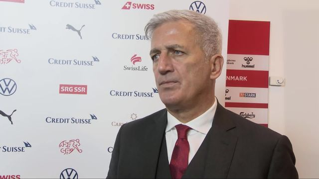 Groupe D, Danemark - Suisse (1-0): l'analyse de Vladimir Petkovic [RTS]