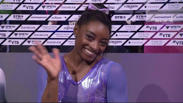Poutre dames : 15.066 et le titre pour Simone Biles (USA) [RTS]