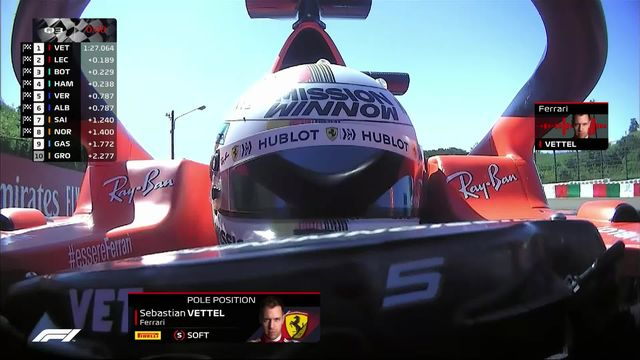 GP du Japon (#17), Q3: Sebastian Vettel (GER) partira en pole [RTS]