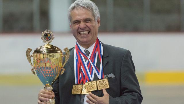 Franco Pisino, entraineur national de karaté. [Féderation Suisse de Karaté]