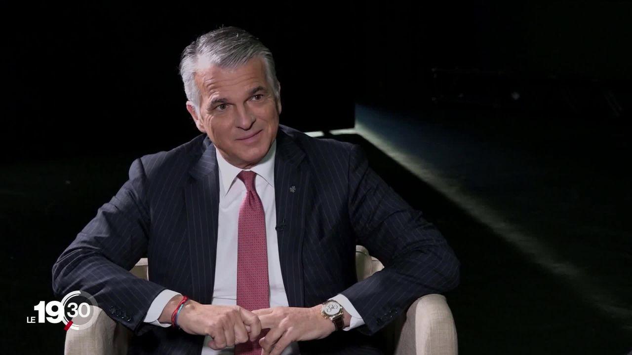 """Sergio Ermotti: """"il n'y a pas que les jeunes qui se soucient du climat."""" [RTS]"""