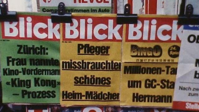 Le journal Le Blick, 1985 [RTS]