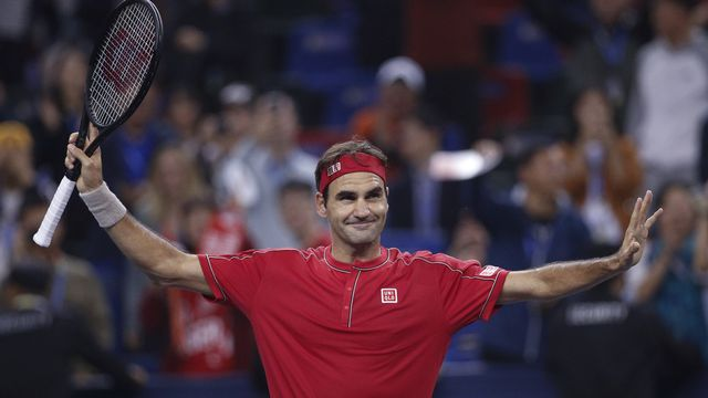 Federer disputera les Jeux de Tokyo l'année prochaine. [Andy Wong - Keystone]