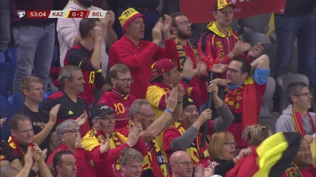 Gr.I, Kazakhstan - Belgique (0-2): la Belgique poursuit son sans-faute dans ces qualifications [RTS]