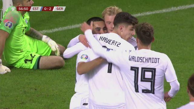 Gr.C, Estonie - Allemagne (0-3): Gündogan permet à l'Allemagne de s'imposer à 10 contre 11 [RTS]