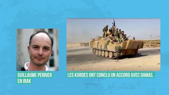 Les Kurdes contraints de s'allier à Damas face à l'avancée des Turcs en Syrie [RTS]