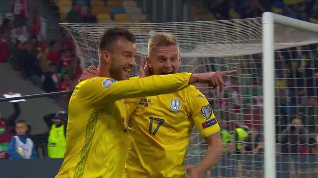 Gr.B, Ukraine - Portugal (2-1) [RTS]