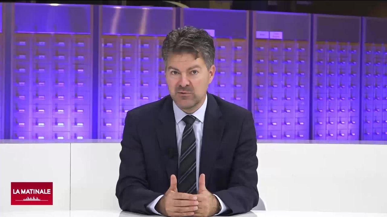 """L'invité de la Matinale (vidéo) - Andreas Schwab, élu allemand surnommé """"M. bilatérales Suisse-UE"""" [RTS]"""