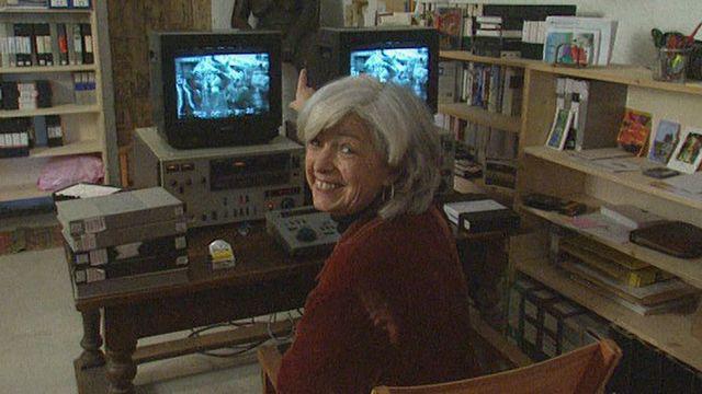 Carole Roussopoulos, vidéaste en 2000. [RTS]