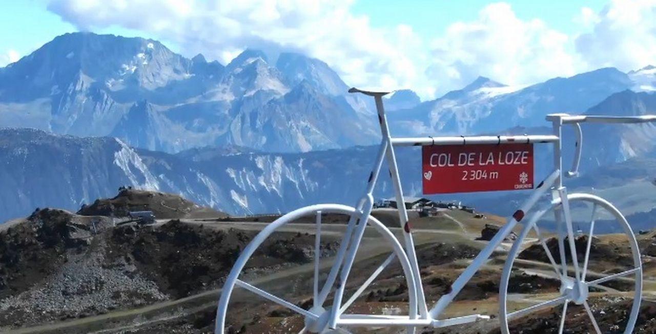 Nouveau venu, le col de la Loze à 2304 mètres. [Twitter - Tour de France - SRI]