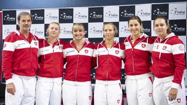 Les Suissesses défieront le Canada à Bienne. [Anthony Anex - Keystone]