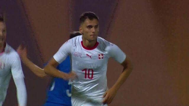 """Azerbaïdjan - Suisse (0-1): les """"Rougets"""" s'imposent [RTS]"""
