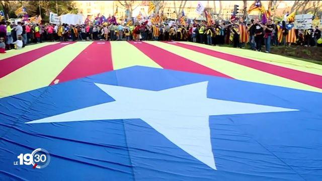 Nouvelles manifestations en Catalogne suite aux condamnations de dirigeants indépendantistes. La colère ne faiblit pas. [RTS]