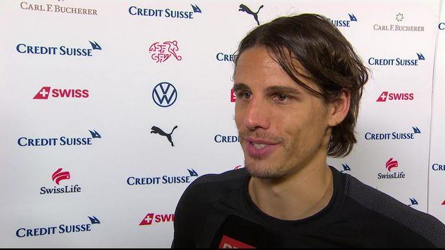 Gr.D, Suisse - Irlande (2-0): interview de Yann Sommer après la rencontre [RTS]