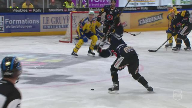 National League: Fribourg - Davos (4-2), grand format [RTS]
