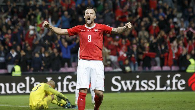 Seferovic a réussi une excellente performance avec la Suisse. [Salvatore Di Nolfi - Keystone]