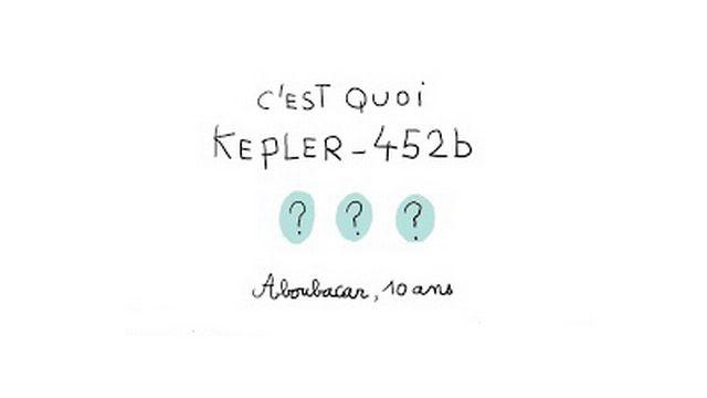 C'est quoi Kepler-452b? 1 jour 1 question. [1jour1actu.com - France TV Éducation]