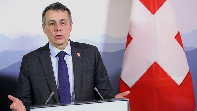 Le chef du Département fédéral des affaires étrangères Ignazio Cassis. [Denis Balibouse - Reuters]