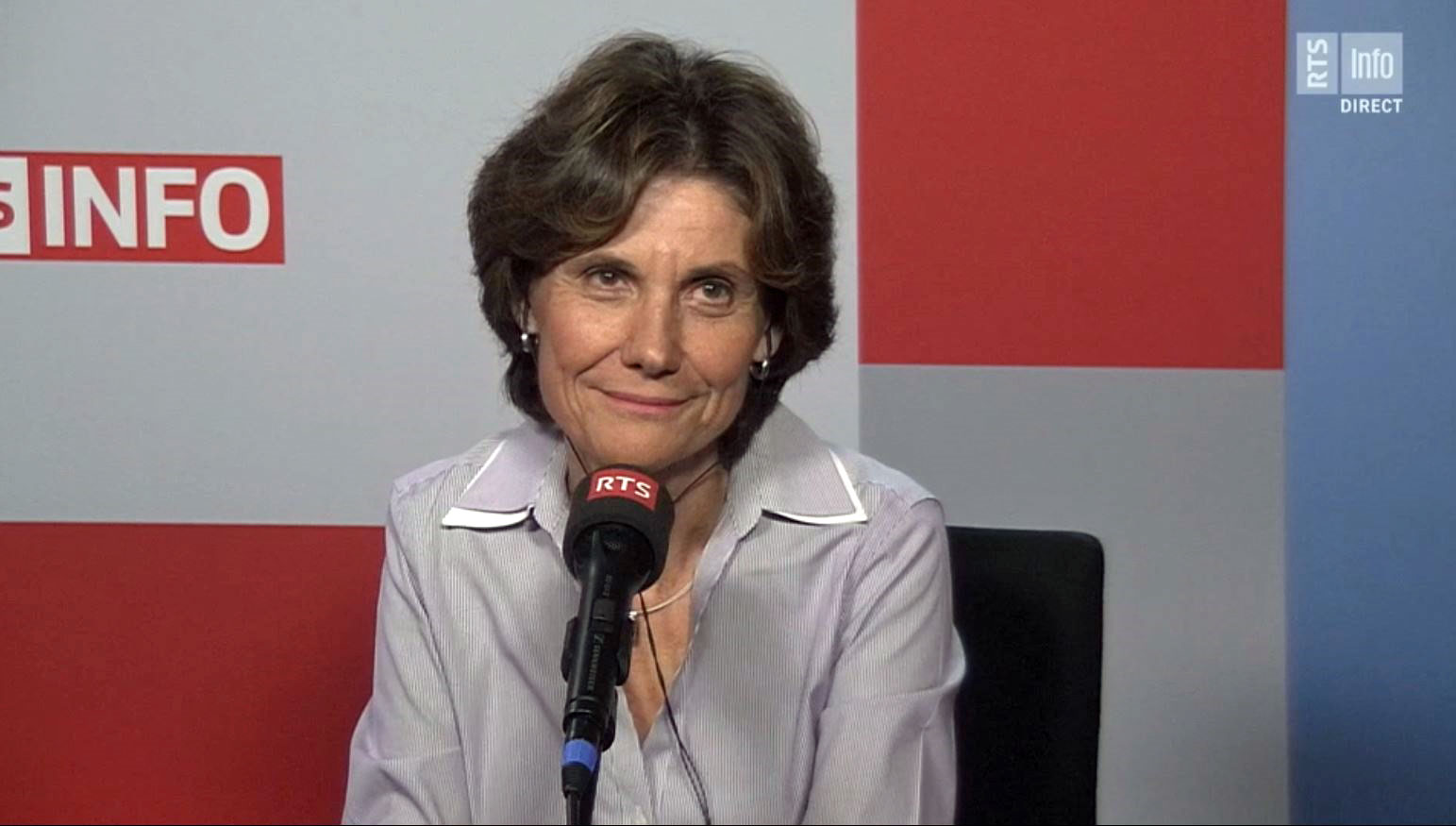 La cheffe du Département genevois de l'Instruction publique, Anne Emery-Torracinta.