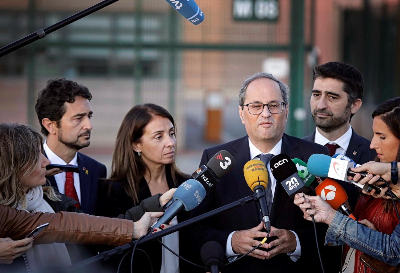 Le président catalan demande l#039;arrêt immédiat des heurts dans la région