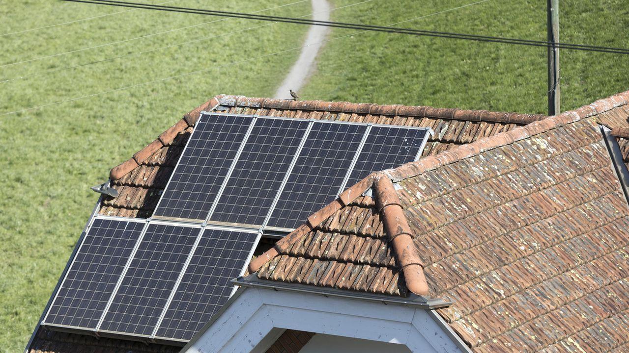 Le taux d'assainissement énergétique du bâti existant se monte actuellement à environ 1% par an. [Gaëtan Bally - Keystone ]