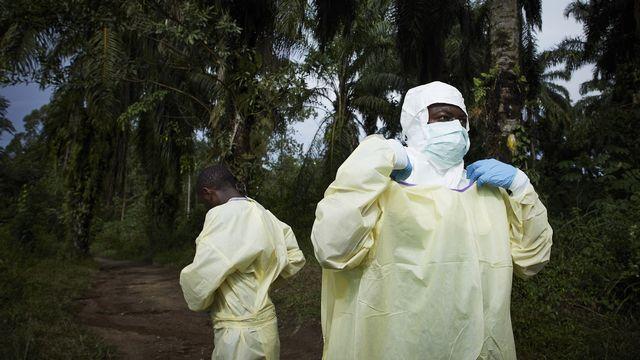 Plus de 2000 personnes sont décédées depuis le début de l'épidémie d'Ebola en République démocratique du Congo. [Hugh Kinsella Cunningham - EPA/Keystone]
