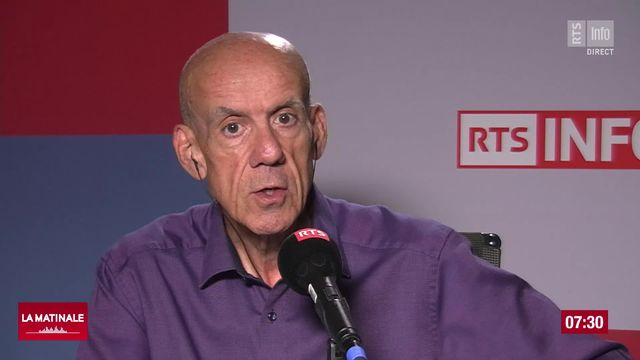 Signature d'Yves Terrani (vidéo) - Comme un sentiment de dégoût en marge de l'affaire Joël Rossier [RTS]