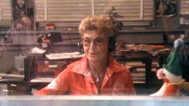 L'animatrice Colette Jean de la Radio Suisse romande [RTS]