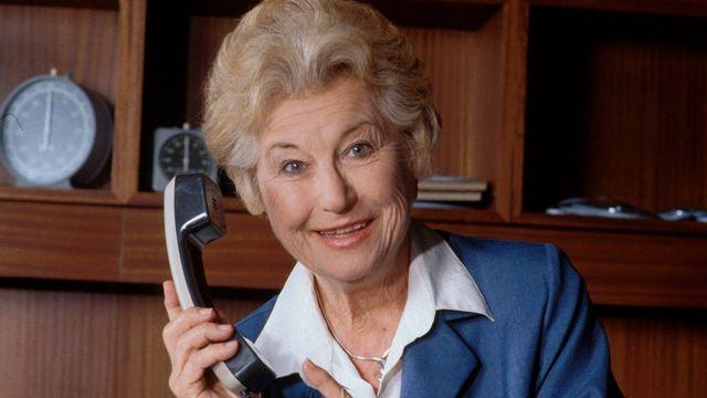 L'animatrice radio Colette Jean en 1997. [RTS]