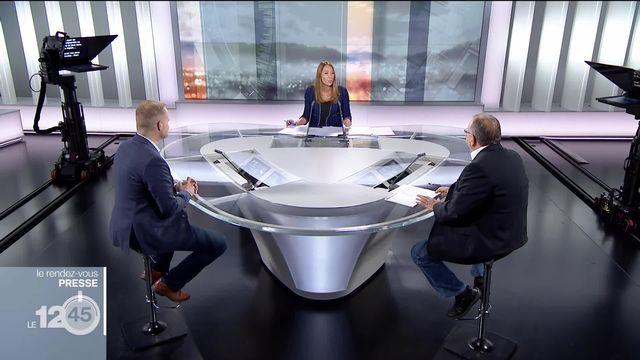 Rendez-vous de la presse: débat sur la Syrie avec Avram Zisyadis (RTS) et Marc Allgöwer (Le Temps) [RTS]