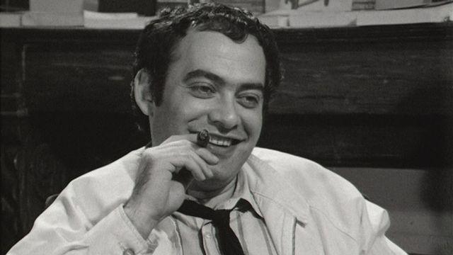 L'écrivain Roland Topor en 1969 [RTS]
