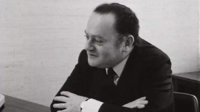 René Goscinny en 1970. [RTS]
