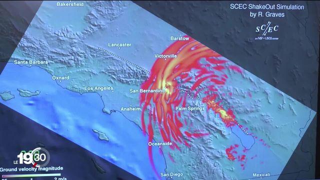 En Californie, on se prépare aux tremblements de terre en particulier au Big One. [RTS]