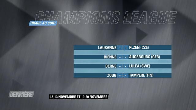 Ligue des champions de Hockey: Tirage au sort des 8e de finale [RTS]
