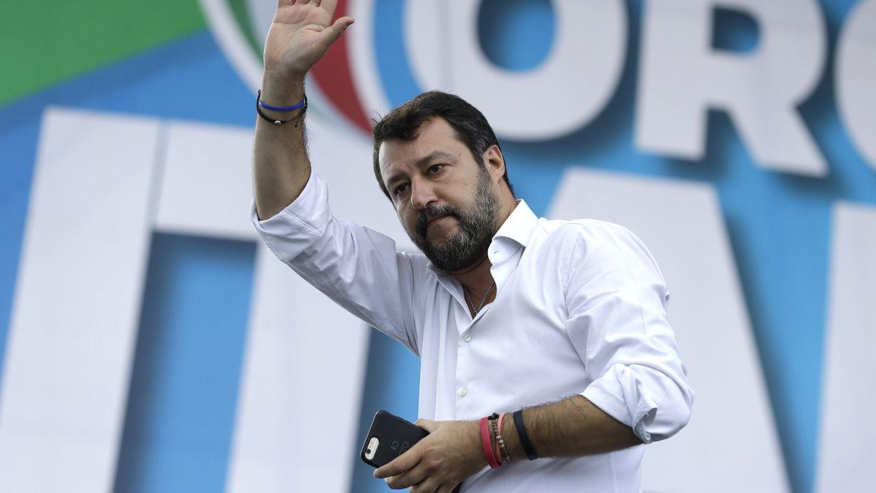 Matteo Salvini, le 19 octobre 2019. [Andrew Medichini - AP Photo/Keystone]