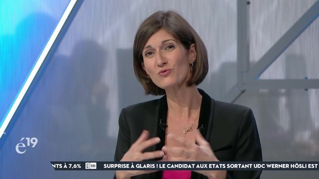L'analyse de Linda Bourget sur la non-réélection surprise de Jean-François Rime (UDC-FR) au Conseil national [RTS]