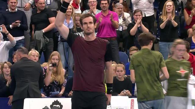 Finale, S. Wawrinka (SUI) - A. Murray (GBR) 6-3, 4-6, 4-6: le Vaudois s'incline face au Britannique [RTS]