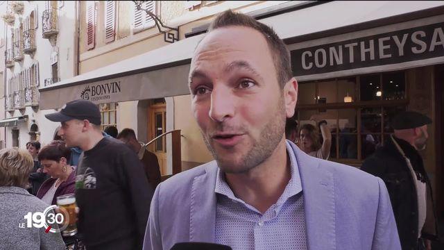 En Valais, le socialiste Mathias Reynard fait trembler le PDC au premier tour du Conseil des États. [RTS]