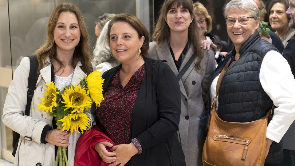 Elues au Conseil national, Adèle Thorens et Ada Marra sont bien parties pour renforcer la délégation féminine au Conseil des Etats. [LAURENT GILLIERON  - Keystone]
