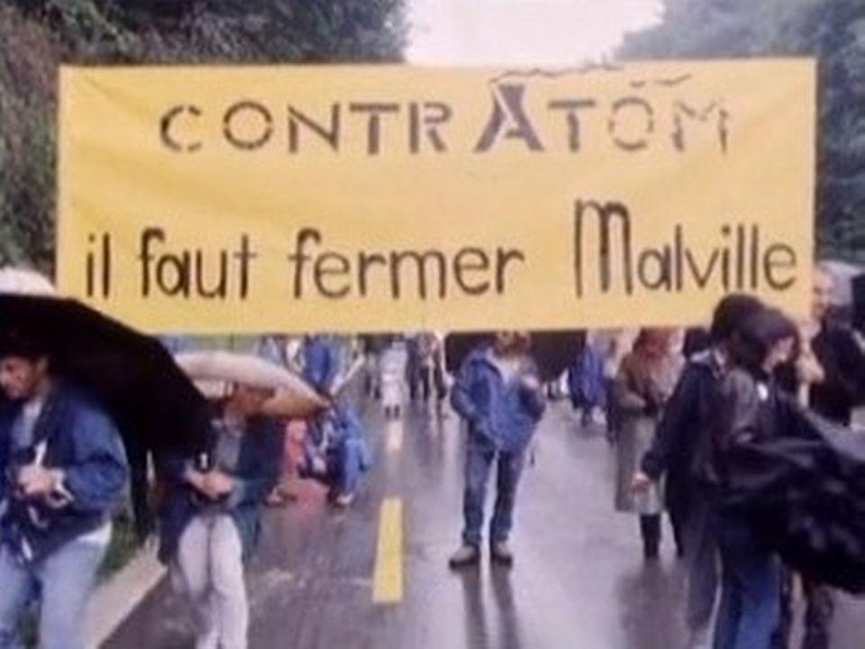 Manifestation contre la centrale de Creys Malville. [RTS]